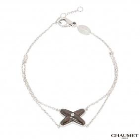 Chaumet White Gold Jeux de Liens Diamond Bracelet 083162